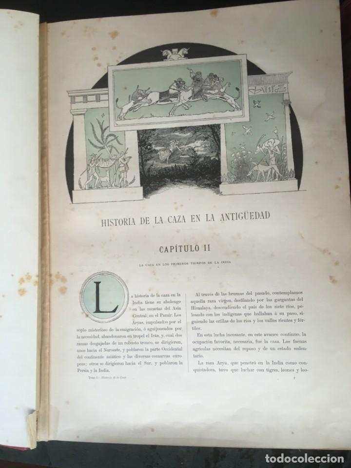 Libros antiguos: LA CAZA EN TODOS LOS PAISES Y A TRAVES DE LOS SIGLOS - CAMPWELL - 1886 - MUY ILUSTRADO - 4 TOMOS - Foto 74 - 155512942