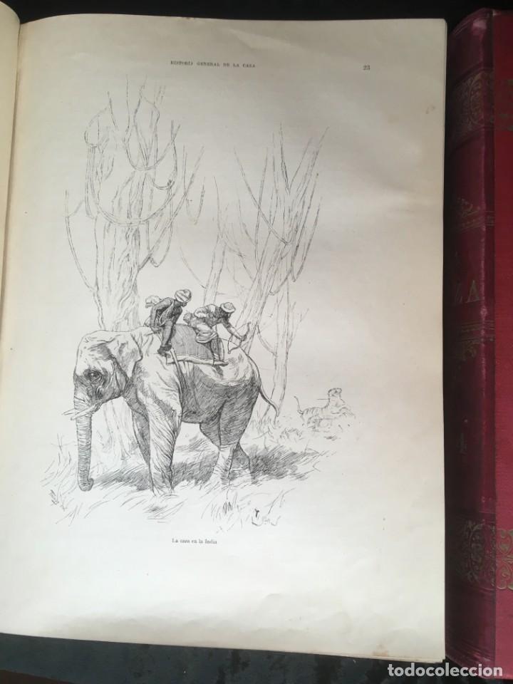 Libros antiguos: LA CAZA EN TODOS LOS PAISES Y A TRAVES DE LOS SIGLOS - CAMPWELL - 1886 - MUY ILUSTRADO - 4 TOMOS - Foto 75 - 155512942