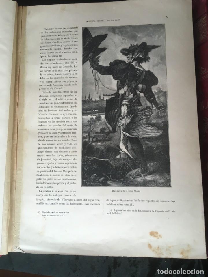 Libros antiguos: LA CAZA EN TODOS LOS PAISES Y A TRAVES DE LOS SIGLOS - CAMPWELL - 1886 - MUY ILUSTRADO - 4 TOMOS - Foto 76 - 155512942