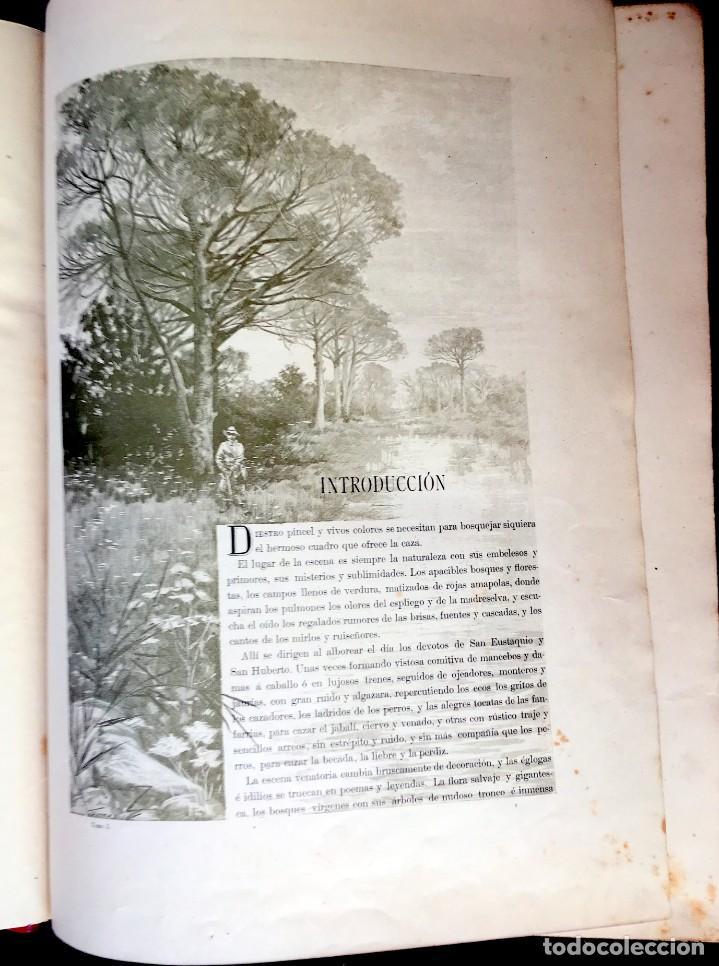 Libros antiguos: LA CAZA EN TODOS LOS PAISES Y A TRAVES DE LOS SIGLOS - CAMPWELL - 1886 - MUY ILUSTRADO - 4 TOMOS - Foto 78 - 155512942