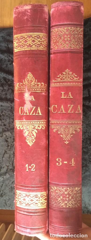 Libros antiguos: LA CAZA EN TODOS LOS PAISES Y A TRAVES DE LOS SIGLOS - CAMPWELL - 1886 - MUY ILUSTRADO - 4 TOMOS - Foto 80 - 155512942