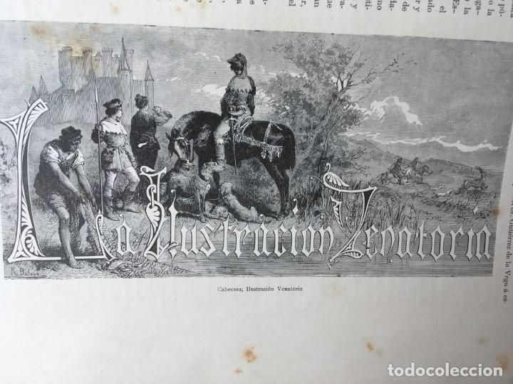 Libros antiguos: LA CAZA EN TODOS LOS PAISES Y A TRAVES DE LOS SIGLOS - CAMPWELL - 1886 - MUY ILUSTRADO - 4 TOMOS - Foto 82 - 155512942