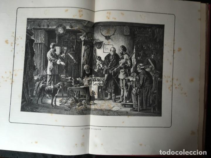 Libros antiguos: LA CAZA EN TODOS LOS PAISES Y A TRAVES DE LOS SIGLOS - CAMPWELL - 1886 - MUY ILUSTRADO - 4 TOMOS - Foto 89 - 155512942