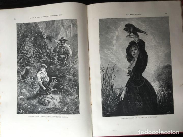 Libros antiguos: LA CAZA EN TODOS LOS PAISES Y A TRAVES DE LOS SIGLOS - CAMPWELL - 1886 - MUY ILUSTRADO - 4 TOMOS - Foto 90 - 155512942