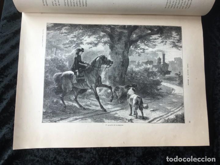 Libros antiguos: LA CAZA EN TODOS LOS PAISES Y A TRAVES DE LOS SIGLOS - CAMPWELL - 1886 - MUY ILUSTRADO - 4 TOMOS - Foto 110 - 155512942