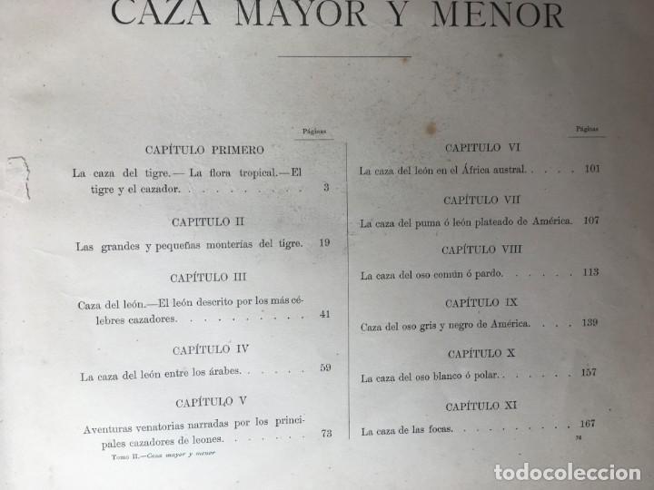 Libros antiguos: LA CAZA EN TODOS LOS PAISES Y A TRAVES DE LOS SIGLOS - CAMPWELL - 1886 - MUY ILUSTRADO - 4 TOMOS - Foto 122 - 155512942