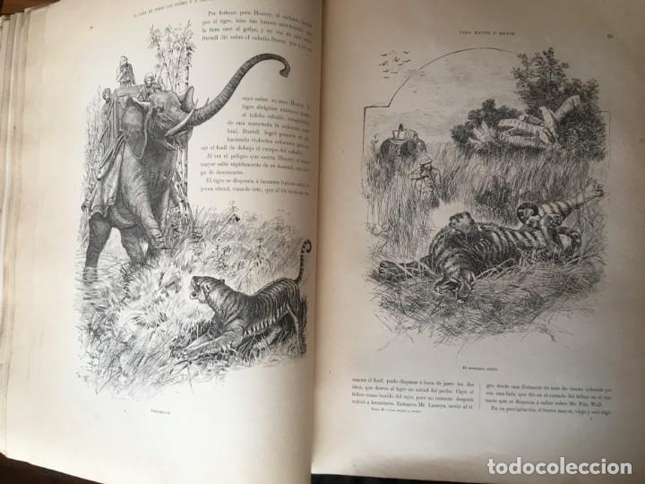 Libros antiguos: LA CAZA EN TODOS LOS PAISES Y A TRAVES DE LOS SIGLOS - CAMPWELL - 1886 - MUY ILUSTRADO - 4 TOMOS - Foto 134 - 155512942