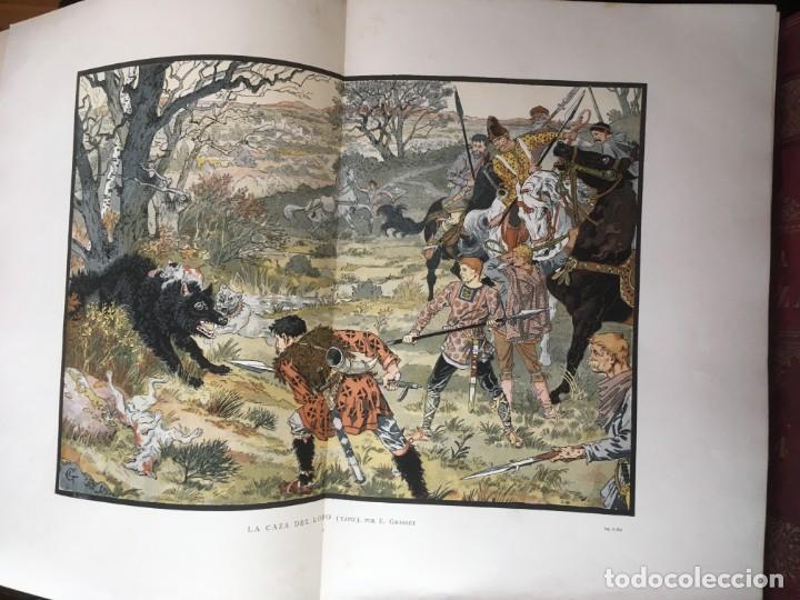 Libros antiguos: LA CAZA EN TODOS LOS PAISES Y A TRAVES DE LOS SIGLOS - CAMPWELL - 1886 - MUY ILUSTRADO - 4 TOMOS - Foto 137 - 155512942