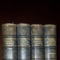 Alte Bücher - Historia de los Papas y los Reyes - 1869 - 4 tomos - 155531326