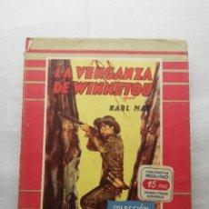 Libros antiguos: LA VENGANZA DE WINNETOU - KARL MAY- COLECCIÓN MOLINO NUMERO 5 - 1953. Lote 155544446
