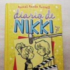 Libros antiguos: DIARIO DE NIKKI, 7. UNA FAMOSA CON POCO ESTILO. Lote 155544498