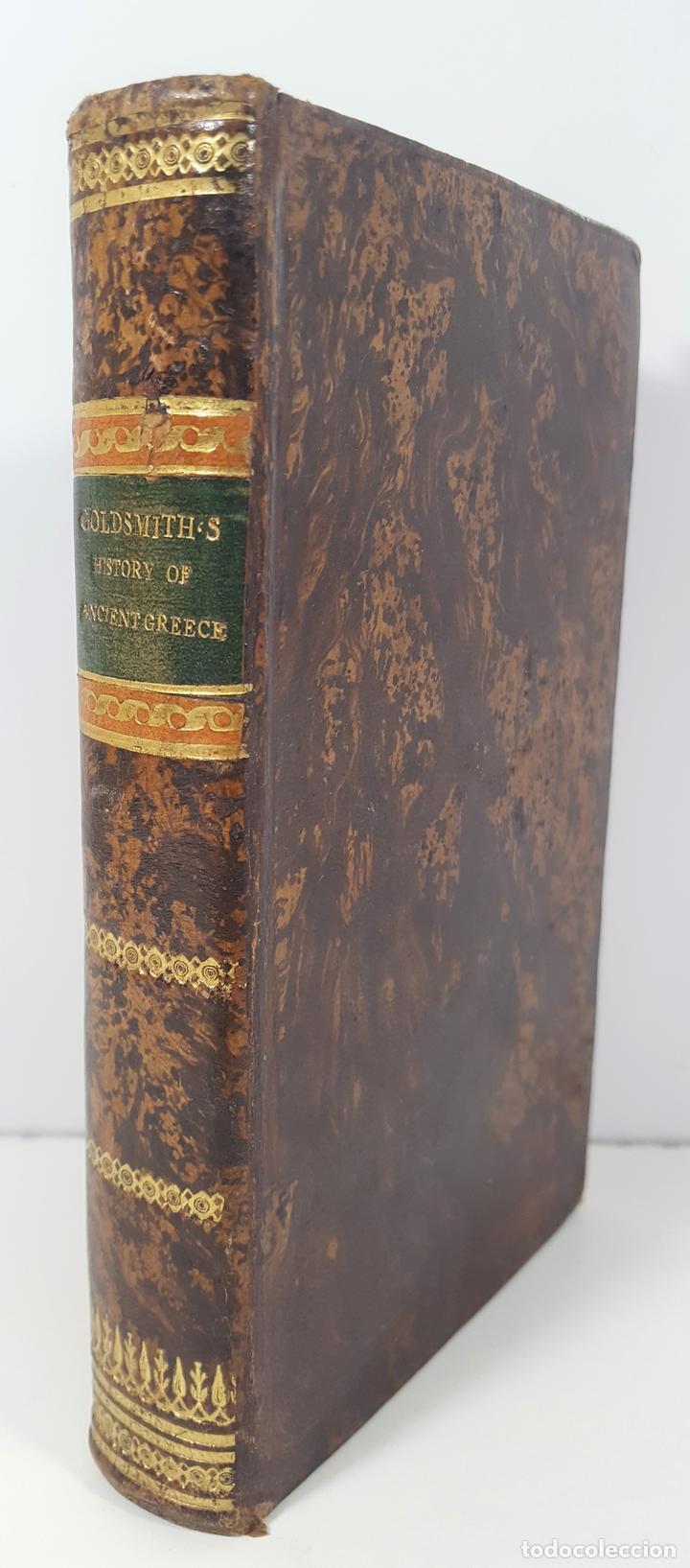 HISTORY OF GREECE. THE USE OF SCHOOLS. GOLDSMITH´S. LONDON. 1820. (Libros Antiguos, Raros y Curiosos - Historia - Otros)