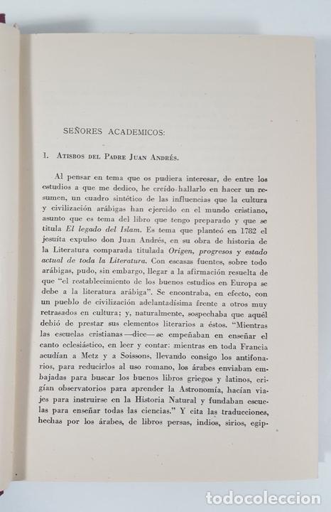 Libros antiguos: MOROS Y CRISTIANOS EN ESPAÑA MEDIEVAL. ÁNGEL GONZÁLEZ PALENCIA. MADRID. 1945. - Foto 5 - 155624094