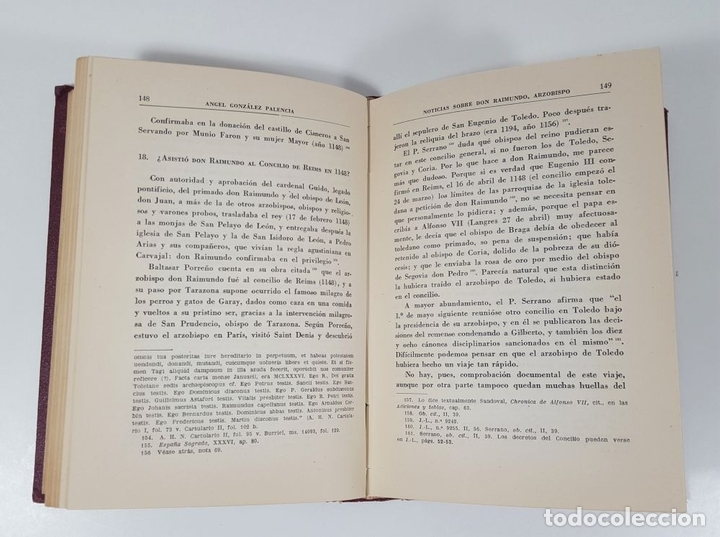 Libros antiguos: MOROS Y CRISTIANOS EN ESPAÑA MEDIEVAL. ÁNGEL GONZÁLEZ PALENCIA. MADRID. 1945. - Foto 6 - 155624094
