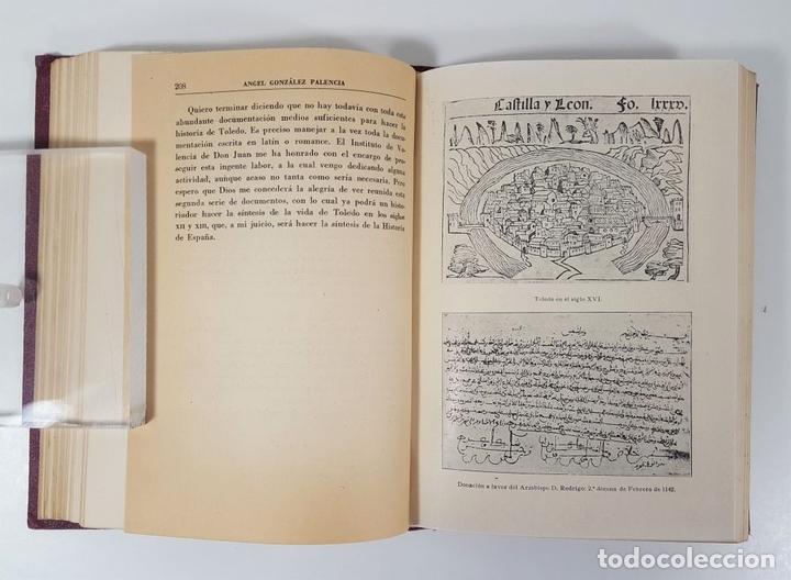 Libros antiguos: MOROS Y CRISTIANOS EN ESPAÑA MEDIEVAL. ÁNGEL GONZÁLEZ PALENCIA. MADRID. 1945. - Foto 8 - 155624094