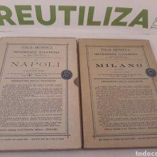 Libros antiguos: ITALIA ARTISTICA.MONOGRAFIE ILLUSTRATE.CORRADO RICCI.1906.1907.. Lote 155669702