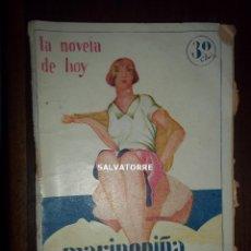 Libros antiguos: R.M.TENREIRO.MARIPEPIÑA.LA NOVELA DE HOY.1929. Lote 155669802