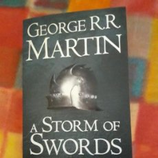 Libros antiguos: A STORM OF SWORDS PARTE1. STEEL AND SNOW GEORGE MARTIN. Lote 155676774