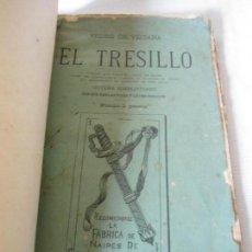 Libros antiguos: ANTIGUO LIBRETO EXPLICATIVO SOBRE JUEGO DE NAIPES EL TRESILLO AÑO 1879. Lote 155682326