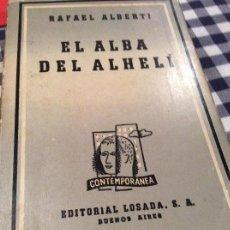 Libros antiguos: LIBRO DEDICADO ALBERTI. Lote 155810206