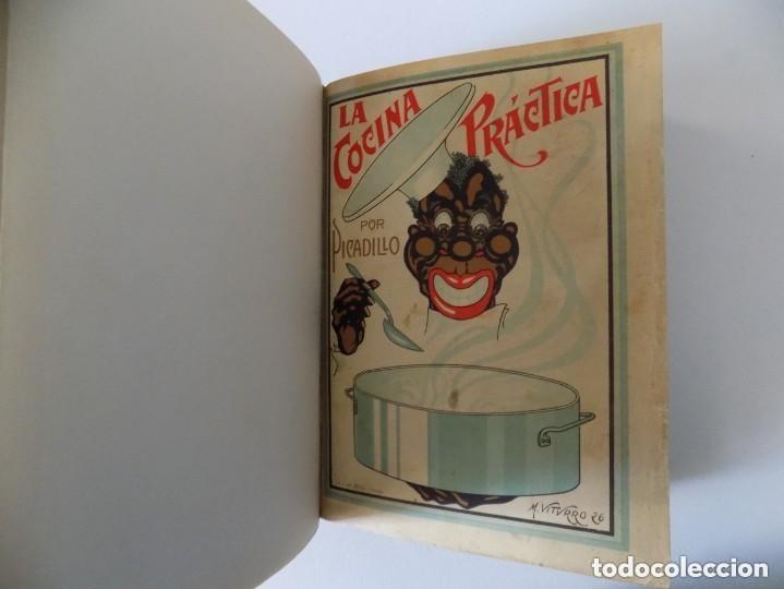 LIBRERIA GHOTICA. LA COCINA PRÁCTICA POR PICADILLO.1926. FOLIO. CONSERVA PORTADA Y CONTRAPORTADA (Libros Antiguos, Raros y Curiosos - Cocina y Gastronomía)