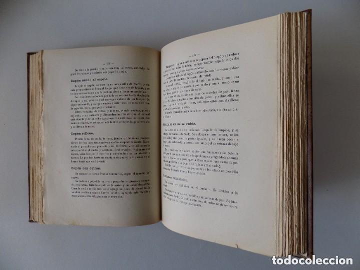 Libros antiguos: LIBRERIA GHOTICA. LA COCINA PRÁCTICA POR PICADILLO.1926. FOLIO. CONSERVA PORTADA Y CONTRAPORTADA - Foto 4 - 155814826