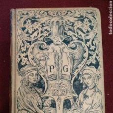 Libros antiguos: HISTORIA DE LA LITERATURA 1902, MONTANER Y SIMON EDITORES. Lote 155826900