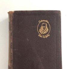 Libros antiguos: MIGUEL DE CERVANTES SAAVEDRA. EL QUIJOTE. MANUEL AGUILAR. MADRID 1956. Lote 155834658