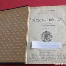 Libros antiguos: LSA COCINA PRÁCTICA. PICADILLO, MANUEL PUGA. SEXTA EDICIÓN. 511 PÁGINAS. 21,5 X 16 CM.. Lote 155914002
