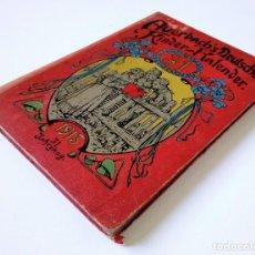 Libros antiguos: 1913 AUERSBACH`S DEUTSCHER KINDER-KALENDAR LIBRO CALENDARIO INFANTIL Nº 31 CON JUEGO CANCIONES C. Lote 155948310