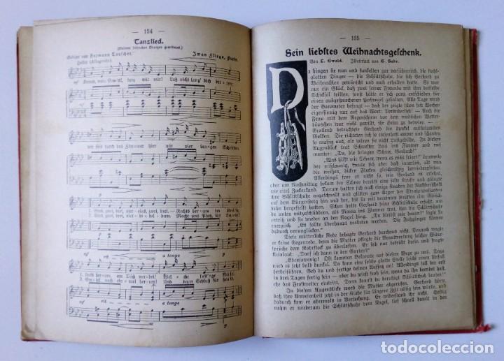 Libros antiguos: 1913 AUERSBACH`S DEUTSCHER KINDER-KALENDAR LIBRO CALENDARIO INFANTIL Nº 31 CON JUEGO CANCIONES C - Foto 8 - 155948310
