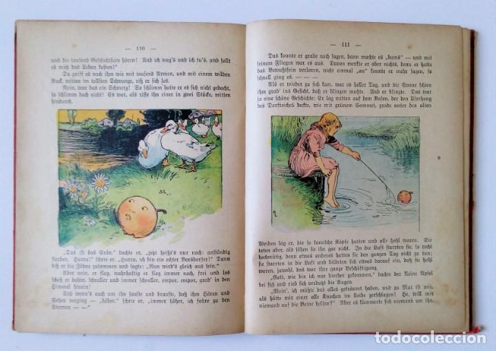 Libros antiguos: 1913 AUERSBACH`S DEUTSCHER KINDER-KALENDAR LIBRO CALENDARIO INFANTIL Nº 31 CON JUEGO CANCIONES C - Foto 9 - 155948310