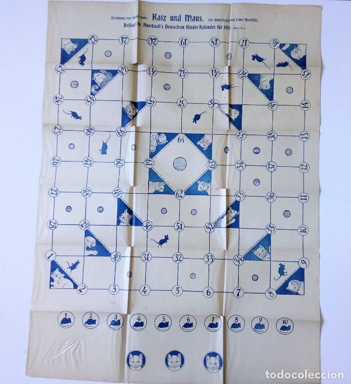 Libros antiguos: 1913 AUERSBACH`S DEUTSCHER KINDER-KALENDAR LIBRO CALENDARIO INFANTIL Nº 31 CON JUEGO CANCIONES C - Foto 10 - 155948310