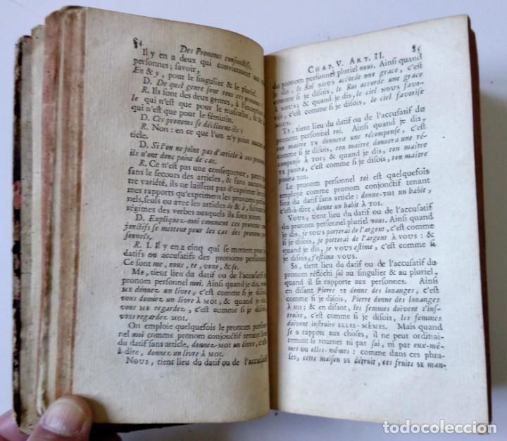 Libros antiguos: 1758 Principes généraux et raisonnés de la GRAMMAIRE FRANCOISE de M. RESTAUT. - Gramática francesa - Foto 6 - 155954886