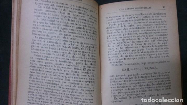 Libros antiguos: MANUALES SOLER-ABONOS INDUSTRIALES - Foto 5 - 155964162