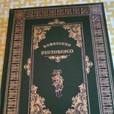 Libros antiguos: EDICIÓN NUMERADA ROMANCERO PINTORESCO. Lote 155965870