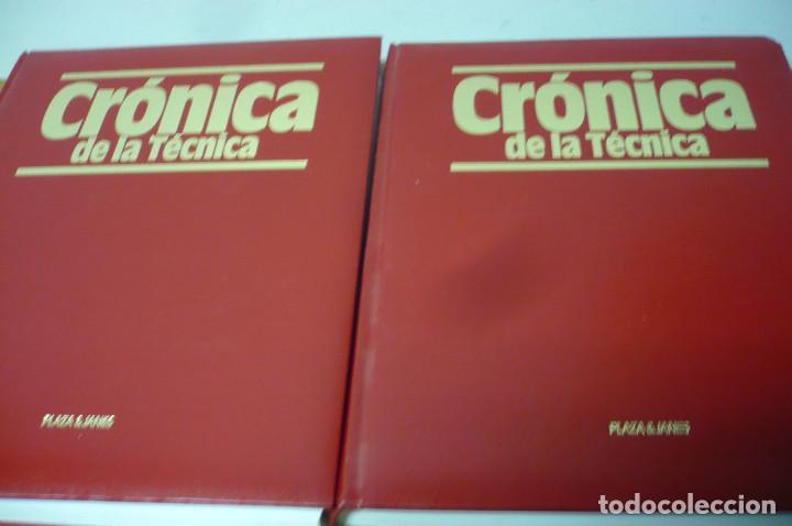 CRONICA DE LA TECNICA 2 VOL PLAZA & JANES (Libros Antiguos, Raros y Curiosos - Ciencias, Manuales y Oficios - Otros)