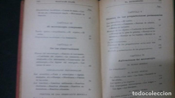 Libros antiguos: MANUALES SOLER-EL MICROSCOPIO - Foto 4 - 155971706