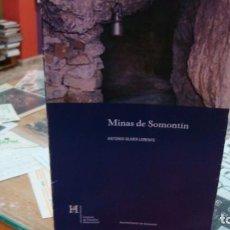 Libros antiguos: MINAS DE SOMONTÍN ANTONIO OLIVER LORENTE ALMERÍA. Lote 155973782