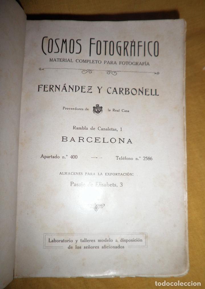 Libros antiguos: ANTIGUO CATALOGO DE APARATOS DE FOTOGRAFIA COSMOS FOTOGRAFICO - AÑO 1910 - MUY ILUSTRADO. - Foto 2 - 155998786