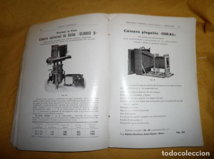Libros antiguos: ANTIGUO CATALOGO DE APARATOS DE FOTOGRAFIA COSMOS FOTOGRAFICO - AÑO 1910 - MUY ILUSTRADO. - Foto 7 - 155998786