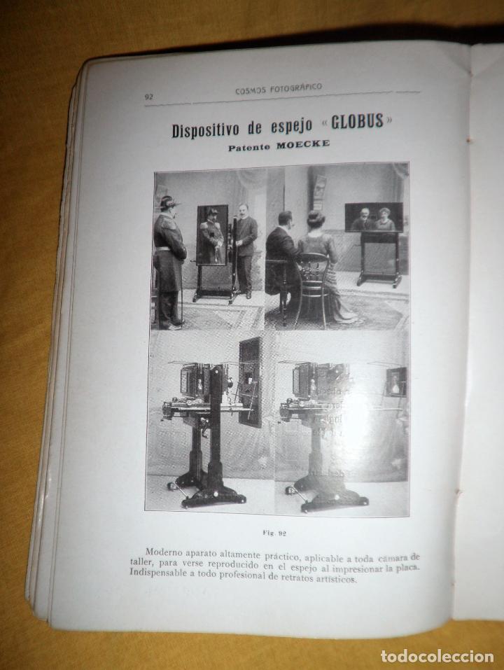 Libros antiguos: ANTIGUO CATALOGO DE APARATOS DE FOTOGRAFIA COSMOS FOTOGRAFICO - AÑO 1910 - MUY ILUSTRADO. - Foto 8 - 155998786