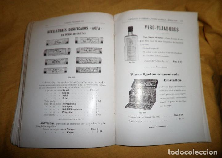 Libros antiguos: ANTIGUO CATALOGO DE APARATOS DE FOTOGRAFIA COSMOS FOTOGRAFICO - AÑO 1910 - MUY ILUSTRADO. - Foto 9 - 155998786