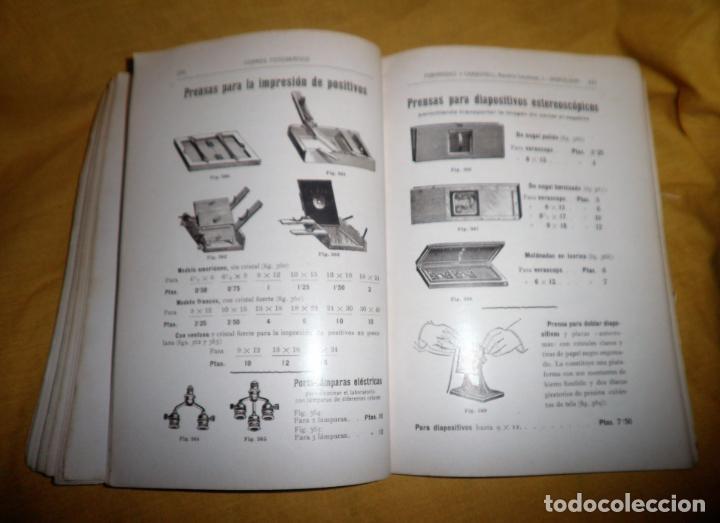 Libros antiguos: ANTIGUO CATALOGO DE APARATOS DE FOTOGRAFIA COSMOS FOTOGRAFICO - AÑO 1910 - MUY ILUSTRADO. - Foto 11 - 155998786