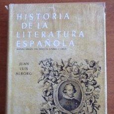 Libros antiguos: HISTORIA DE LA LITERATURA ESPAÑOLA. TOMOS II. ÉPOCA BARROCA. JUAN LUIS ALBORG. Lote 156051254