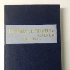Libros antiguos: RICARDO CARBALLO CALERO. HISTORIA DA LITERATURA GALEGA CONTEMPORÁNEA. GALAXI, VIGO 1963. Lote 156342370
