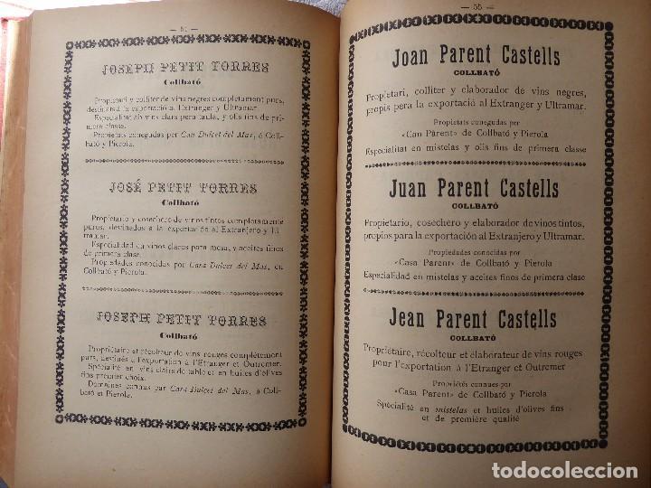 Libros antiguos: L-5306. MEMORIA DEL MAPA REGIONAL VINÍCOLA PROVINCIA DE BARCELONA. AÑO 1890. BILINGÜE. - Foto 8 - 156410098
