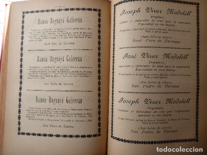 Libros antiguos: L-5306. MEMORIA DEL MAPA REGIONAL VINÍCOLA PROVINCIA DE BARCELONA. AÑO 1890. BILINGÜE. - Foto 9 - 156410098