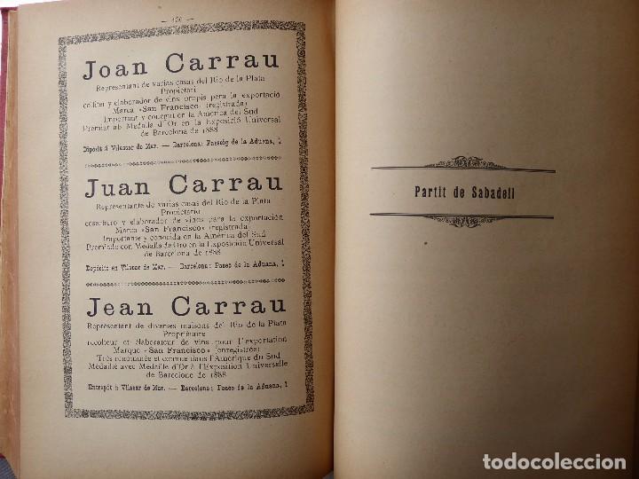Libros antiguos: L-5306. MEMORIA DEL MAPA REGIONAL VINÍCOLA PROVINCIA DE BARCELONA. AÑO 1890. BILINGÜE. - Foto 10 - 156410098