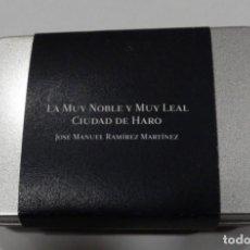 Libros antiguos: LA MUY NOBLE Y LEAL CIUDAD DE HARO. JOSE MANUEL RAMÍREZ MARTÍNEZ HISTORIA DE HARO .EN PENDRIVE.RIOJA. Lote 254985090